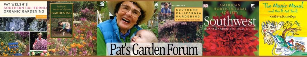 pat welsh, organic gardener, gardening organic, organic gardening, Natural flower