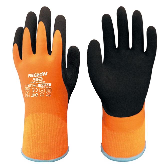 warm winter garden glove gardening Safety Glove Latex cold proof