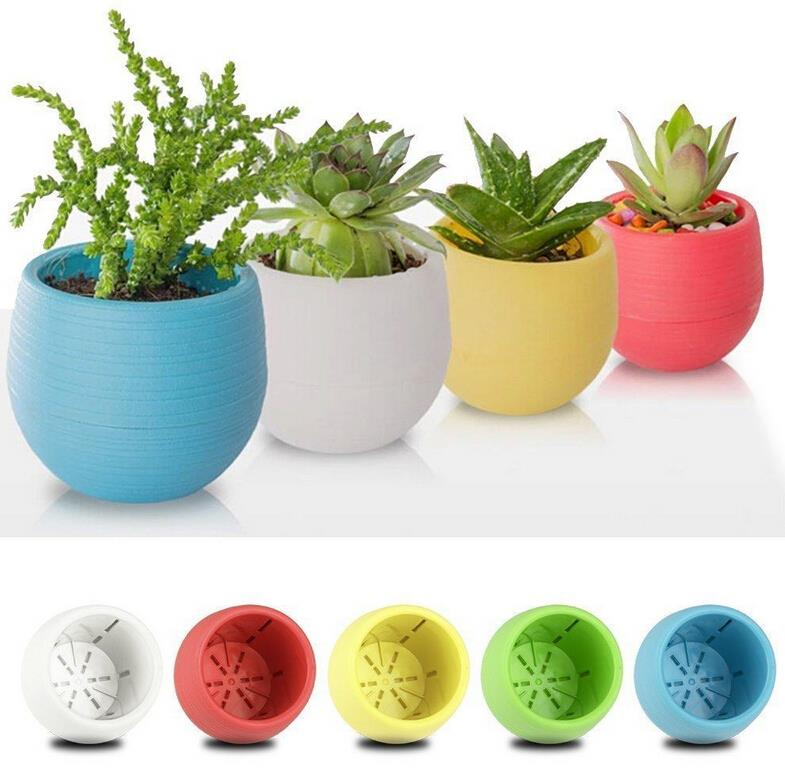 Colorful Garden Pots Pat welsh organic and southern california gardening 1pcs gardening mini plastic flower pots vase square flower bonsai planter nursery pots flower pots plantersgarden pots workwithnaturefo