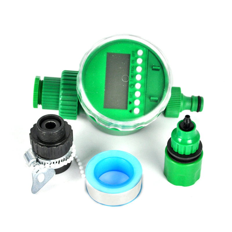 25M Automatic Micro Drip Irrigation System With Water Timer Plant Watering Garden  Hose ...