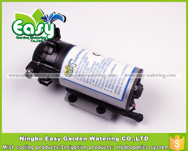 Water Mist Cooling Systems : Water from tank mist nozzle psi diaphragm pump fog