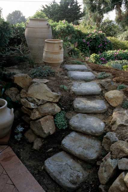 Steps From Concrete Bags Pat Welsh Organic And Southern
