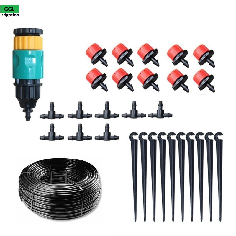 Patio And Potted Plant Drip Irrigation Kit: New Automatic Home Garden Mini Watering Sprinklers Kits