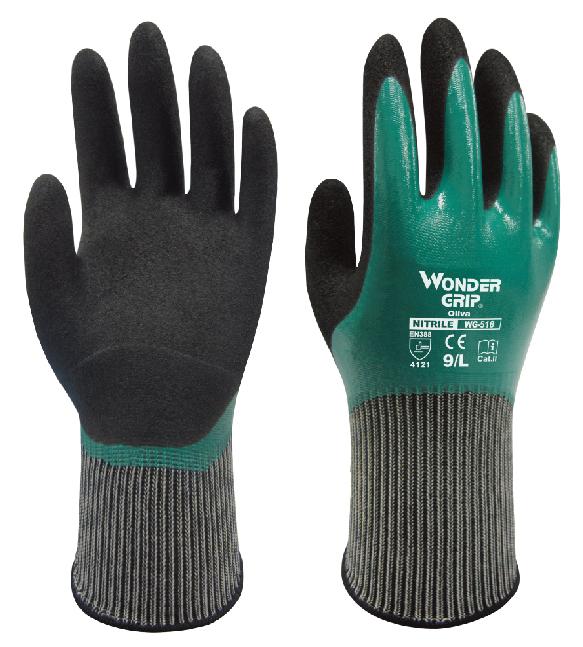 full oil resistance safety glove gardening labor glove ...